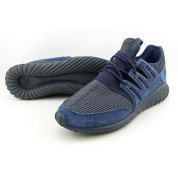 Adidas Tubular Radial Uomo US 11.5 Blu Scarpe ginnastica Usato 7789