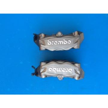 pair front pair brake brembo radial calipersfor ducati guzzi aprilia 100 mm grey