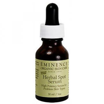 Eminence Herbal Spot Serum Acne Treatment 30ml(1oz) Oily Sebhorreic Skin Fresh