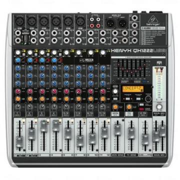 Behringer XENYX QX1222USB PA Mixer 16 Channel