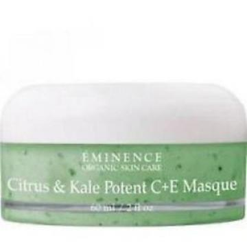 Eminence Citrus & Kale Potent C+E Masque  2 oz/ 60ml  NEW - FAST SHIPPING