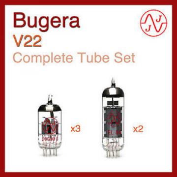 Bugera V22 Complete Tube Set with JJ Electronics