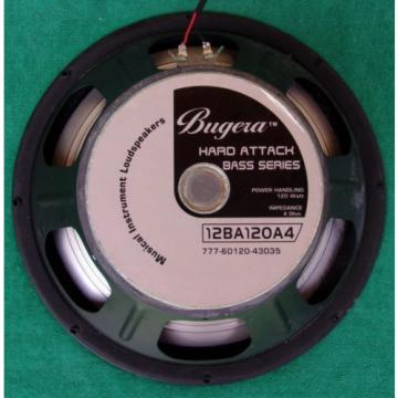 """Kicking Orig Behringrer Bugera 12BA120A4 Electric Guitar Amplifier 12"""" Speaker"""