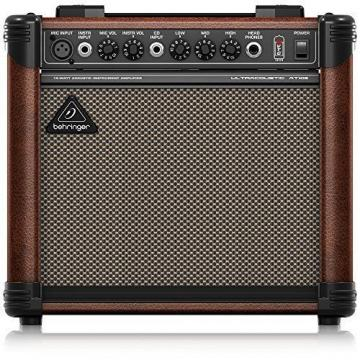 Behringer Ultracoustic At108 Ultra-Compact 15-Watt Instrument Amplifier With