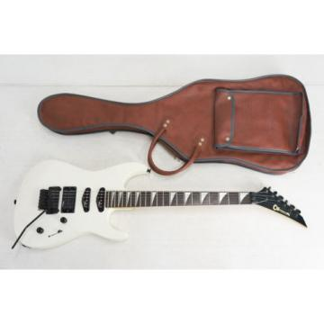 CHARVEL BY JACKSON Electric Guitar White w/case Free Shipping 888v19