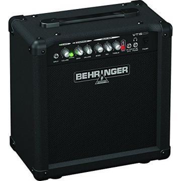 Behringer Virtube Vt15cd 15-Watt Guitar Amplifier With 2 Independent Channels,