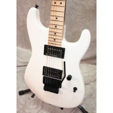 Charvel SD-1 San Dimas HH Floyd Rose electric guitar in snow white
