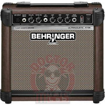BEHRINGER AT108  ULTRACOUSTIC AT-108 AMPLIFICATORE PER CHITARRA ACUSTICA  DA 15W