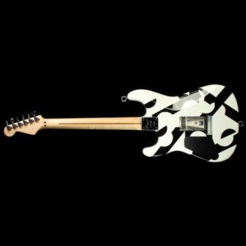 Used 2012 Charvel EVH Art Series Electric Guitar Black & White
