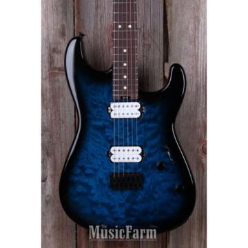Charvel Pro Mod San Dimas Style 1 HH HT Electric Guitar Trans Blue Burst B STOCK
