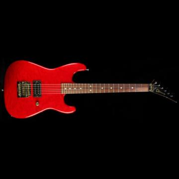 Used 1983 Charvel San Dimas Electric Guitar Transparent Red