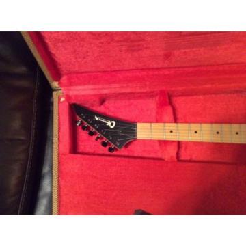 vintage charvel electric guitar black model 1? with ohsc