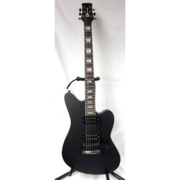 Charvel Skatecaster Electric 6-String Guitar Matte Black Finish Keystone Inlays