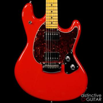 NEW ERNIE BALL MUSIC MAN STINGRAY ELECTRIC GUITAR IN CHILI RED FINISH - DUAL PAF