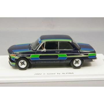 Spark 1/43 BMW 2002 ti 1971 tuned by ALPINA KB LTD SKB43031 Best Buy Gift New