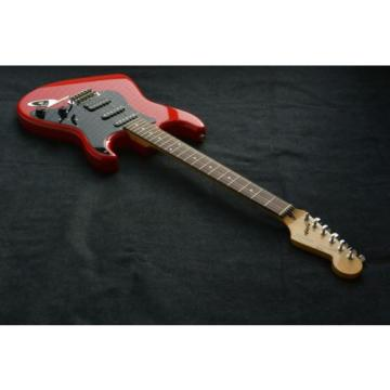 FENDER JAPAN MEDIUM SCALE STRATOCASTER WITH E SERIAL SERIES 1984/87  SQUIER