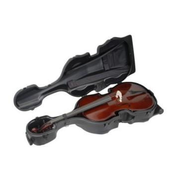 SKB MOLDED CELLO SHELL CASE w/ WHEELS for Yamaha, Etude, Bellafina, Cremona