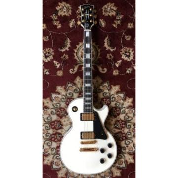 Gibson: Electric Guitar Les Paul Custom White USED