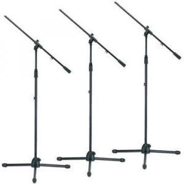 Tripod Microphone Stand W/Boom Arm Triple Pack