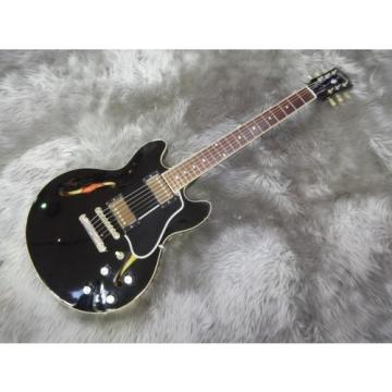 Gibson ES-339 Ebony, Hollow body type electric guitar, a1012
