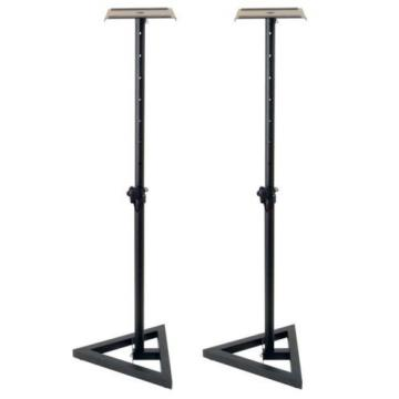 On Stage SMS6000 Studio Monitor Speaker Stand/PA Studio Monitor Stand - New