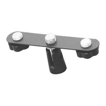 On Stage My500 Stereo Microphone Bar Holds Microphones Stand Holder Music Stands