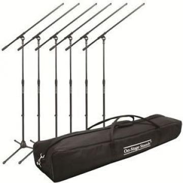 Microphone Stand (6) with Road Bag Bundle - New