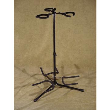 ON STAGE STANDS brand triple Guitar Stand, holds 3 electric Guitars, adjustable