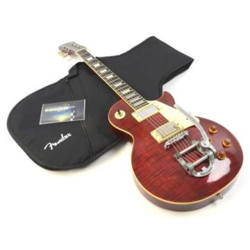 2000 Epiphone Limited Edition Les Paul Standard - Wine Flame w/ Gig Bag - Bigsby