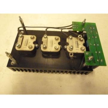 SEMIKRON - Power Bridge Rectifier - SKB 30/02 A1 - 30Amp. Modul mit Kühlrippen