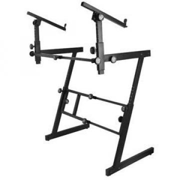 On Stage KS7365EJ Pro Z Stand With 2nd Tier Keyboard Stand - New