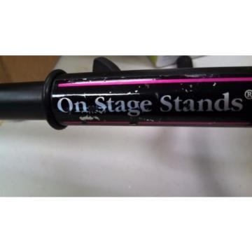 On Stage Stands Guitar Stand Adjustable Black