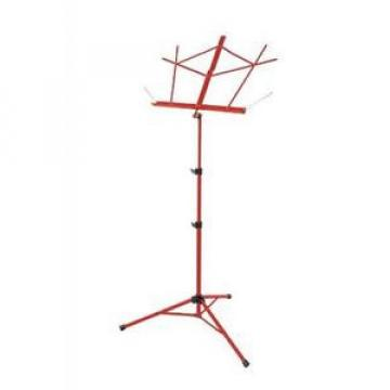 On-Stage Stands Tubular Tripod Base Sheet Music Stand (Red) SM7222RD NEW