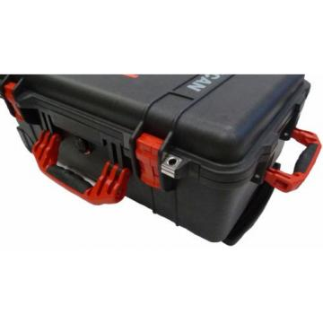 New Black Pelican 1510 With Red Handles & Latches.  With Foam.