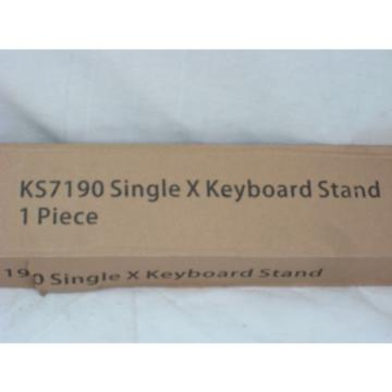 NEW On-Stage KS7190 Single Braced X Style Keyboard Stand