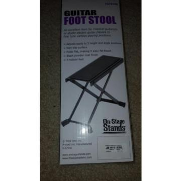 On Stage FS7850B Guitar Foot Stool Music People Electronics