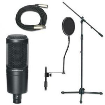 Professional Studio Mic Stand And Cable Package Mic Stand Package - New