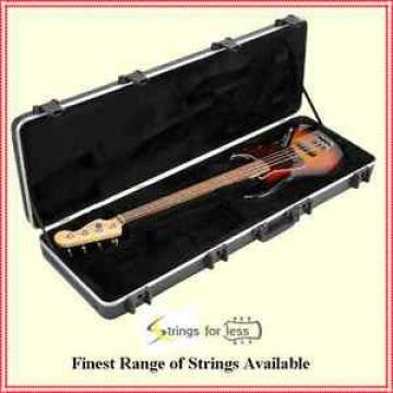 SKB 1SKB-44PRO PRO Electric Bass Guitar Rectangular Case with TSA Locks