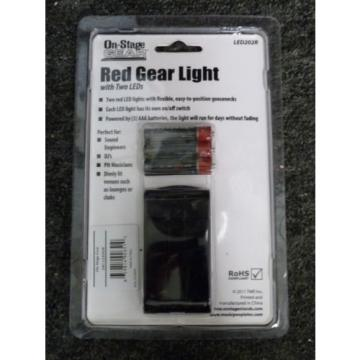 On Stage LED202R two LED red clip on music stand light