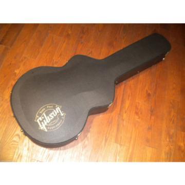 "Rare Gibson 16"" ES or EC-10 EC10 Hard Shell Acoustic Guitar Case Purple Interior"