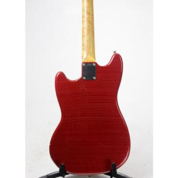 1964 Fender Mustang Candy Apple Red Pre-CBS Electric Guitar
