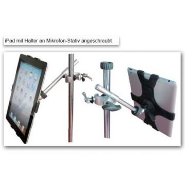 Microphone Stand + Tablet Mount for for iPad1 iPad2 iPad3 IPad4 Mic Holder