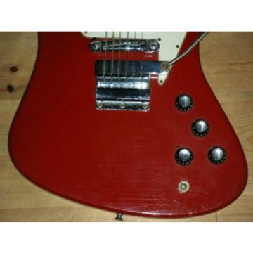 Vintage GIBSON FIREBIRD NON-REVERSE With ARM / 1968 USA Cardinal RED w/C