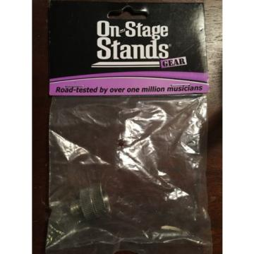 On-Stage Stands MA-100 Microphone Stand Euro-Male to US-Female