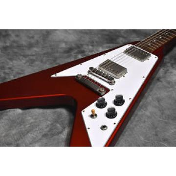 Gibson Custom Shop Limited Run 1967 Flying V Stopbar VOS Sparkling Merlot