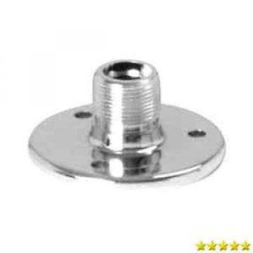 OnStage On-Stage TM02C Chrome Microphone Flange Mount New