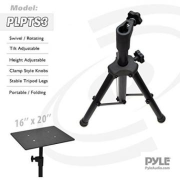 Pyle Pro PLPTS3 Adjustable Tripod Laptop Projector Stand 28 To 41 Black New