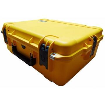 Yellow SKB Case 3i-2217-8Y-E No foam & Pelican TSA- 1600 Lock.