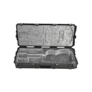 SKB 3i-4217-18 Acoustic Guitar Case, Black, Waterproof, TSA Latches, Wheels