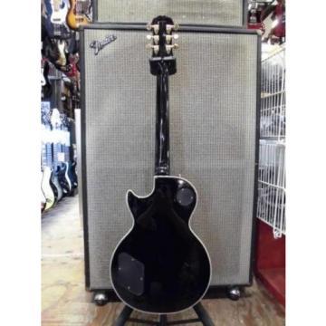 Excellent Japan electric guitar Epiphone [Les Paul Custom] black
